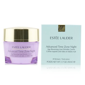 Estee LauderAdvanced Time Zone Night Age Reversing Line/ Wrinkle Creme (For All Skin Types) 50ml/1.7oz