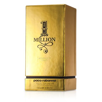 Paco Rabanne One Million Absolutely Gold Pure Perfume Spray  100ml/3.4oz