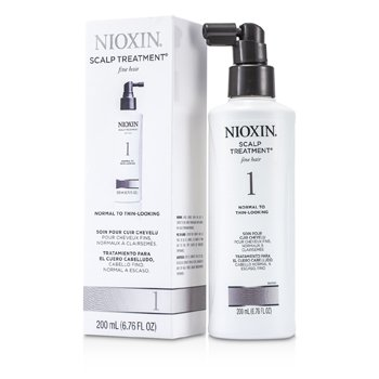 NioxinSystem 1 Scalp Treatment For Fine Hair, Normal to Thin-Looking Hair 200ml/6.76oz