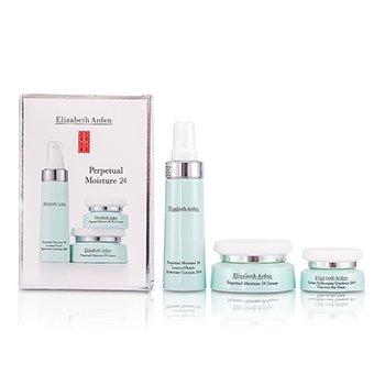 Elizabeth ArdenSet Signature Perpetual Moisture 24 Hour: Loci�n Hidrataci�n Perp�tua 24 Horas + Crema + Crema Ojos 3pcs