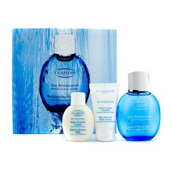 ClarinsEau Ressourcante Coffret: Rebalancing Spray 100ml/3.4oz + krema za tijelo 50ml/1.7oz + gel za tu�iranje 50ml/1.7oz 3pcs