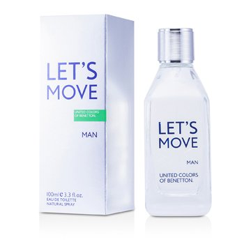 Benetton Let�s Move Agua de Colonia Vap.  100ml/3.3oz