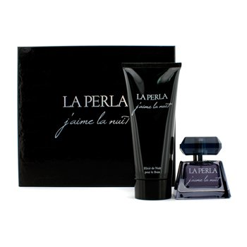 La Perla J'Aime La Nuit Secret D'Amour Coffret: Eau De Parfum Spray 50ml/1.7oz + Elixir De Nuit Shower Gel 200ml/6.6oz  2pcs