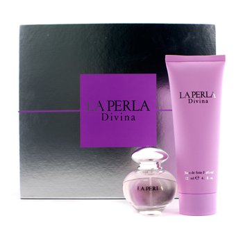 La Perla Divina Magical Coffret: Eau De Toilette Spray 30ml/1oz + Perfumed Bath Foam 125ml/4.2oz  2pcs