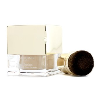 ClarinsSkin Illusion Mineral & Plant Extracts Loose Powder Foundation (With Brush)13g/0.4oz