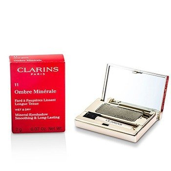 Clarins Mineralny cie� do powiek Ombre Minerale Smoothing & Long Lasting Mineral Eyeshadow - #11 Silver Green  2g/0.07oz