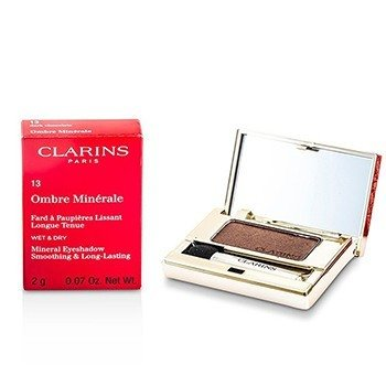 Clarins Mineralny cie� do powiek Ombre Minerale Smoothing & Long Lasting Mineral Eyeshadow - #13 Dark Chocolate  2g/0.07oz
