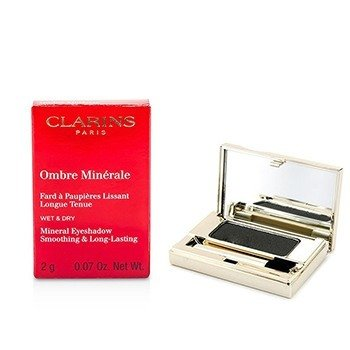 Clarins Mineralny cie� do powiek Ombre Minerale Smoothing & Long Lasting Mineral Eyeshadow - #15 Black Sparkle  2g/0.07oz