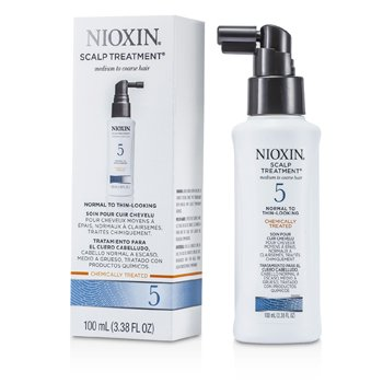 NioxinSystem 5 Scalp Treatment For Medium to Coarse Hair, Normal to Thin-Looking Hair 100ml/3.38oz
