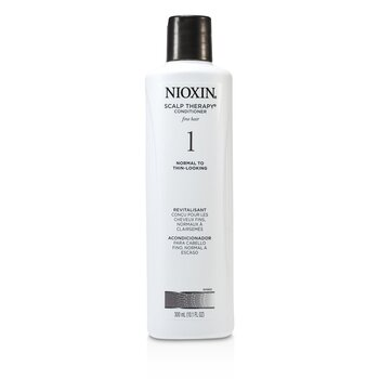 NioxinSystem 1 Scalp Therapy Conditioner For Fine Hair, Normal to Thin-Looking Hair 300ml/10.1oz