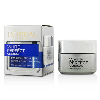 L'OrealCreme Dermo-Expertise White Perfect Laser All-Round Protection Whitening Cream SPF19 PA+++ 50ml/1.7oz