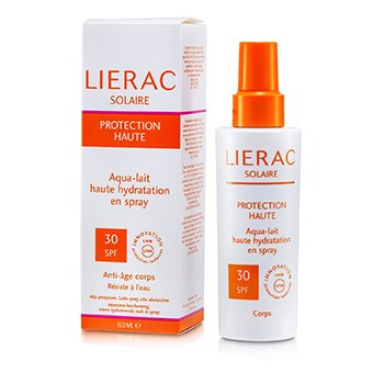 LieracHigh Hydration Spray On Aqua Body Lotion SPF 30 150ml/5.14oz