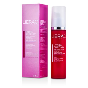Lierac Hydra-Chrono Gentle Soothing Cream Hydration Multi Protection (For Weakened Skin)  40ml/1.4oz
