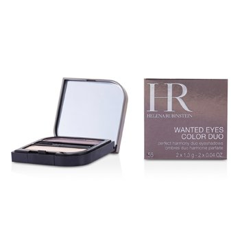 Helena Rubinstein Wanted Eyes Color Duo - No. 55 Seducing Pink & Sexy Plum 2x1.3 make up