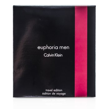 Calvin Klein Euphoria Travel Edition Coffret: Eau De Toilette Spray 100ml/3.4oz + Deodorant Stick 75g/2.6oz  2pcs