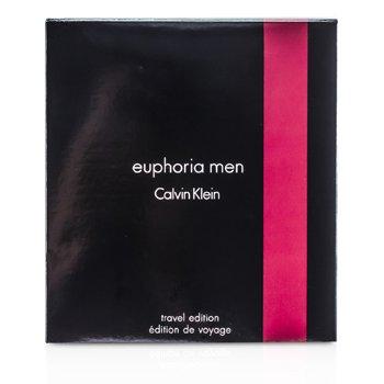 Calvin Klein Estuche Euphoria Edici�n Viaje: Eau De Toilette Spray 100ml/3.4oz + Desodorante en Barra 75g/2.6oz  2pcs
