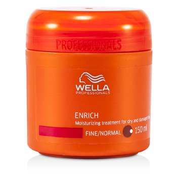 WellaEnrich Moisturizing Treatment for Dry & Damaged Hair (Fine/Normal) 150ml/5oz