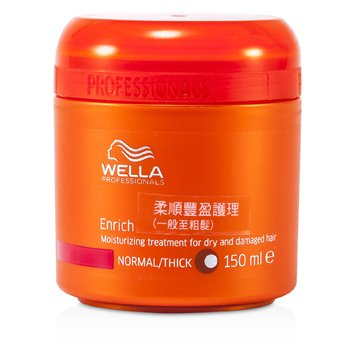 WellaEnrich Moisturizing Treatment for Dry & Damaged Hair (Normal/Thick) 150ml/5oz
