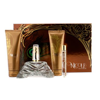 Nicole Richie Estuche Nicole: Eau De Parfum Spray 100ml/3.4oz + Loci�n Corporal 100ml/3.4oz + Gel de Ducha 100ml/3.4oz + Eau De Parfum Roller Ball 10ml/0.34oz  4pcs