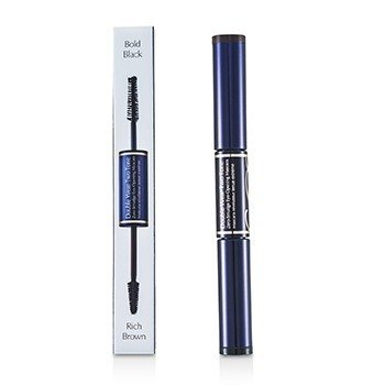 Estee LauderDouble Wear Two Tone Zero Smudge Eye Opening Mascara - # 01 Bold Black/Rich Brown 6ml/0.18oz