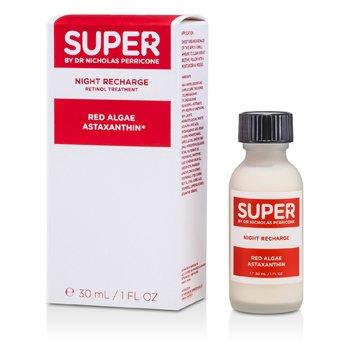 Super By Dr. Nicholas PerriconeTratamiento Recargador Noche con Algas Rojas Astaxanthin 30ml/1oz