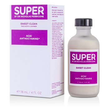 Super By Dr. Nicholas Perricone Sweet Clean Face & Eye Cleanser With Acai Anthocyanins  118ml/4oz