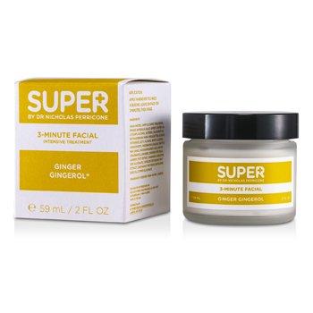 Super By Dr. Nicholas Perricone3-Minute Tratamiento Facial Intensivo con Genjibre Ginerol 59ml/2oz