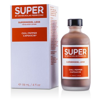 Super By Dr. Nicholas PerriconeSupermodel Legs Tinted Body Lotion With Chili Pepper Capsaicin 118ml/4oz