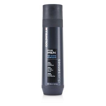 Goldwell Dual Senses For Men Hair & Body Shampoo (For Normal Hair) 300ml/10.1oz