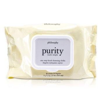PhilosophyPurity Made Simple One-Step Facial Cleansing Cloths 30towlettes