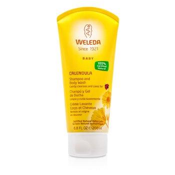 WeledaBaby Calendula Shampoo & Body Wash 200ml/6.8oz