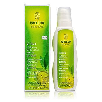 Weleda Citrus Hydrating Body Lotion For Normal Skin  200ml/6.8oz
