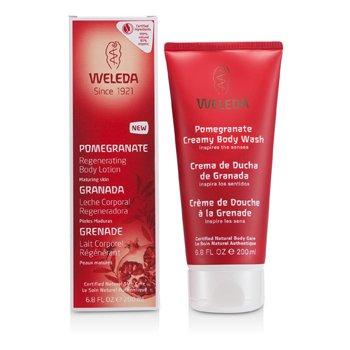 Weleda Pomegranate Regenerating Body Lotion For Maturing Skin  200ml/6.8oz