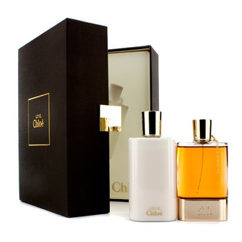 Chloe Love Eau Intense Coffret: Eau De Parfum Spary 50ml/1.7oz + Body Lotion 100ml/3.4oz  2pcs