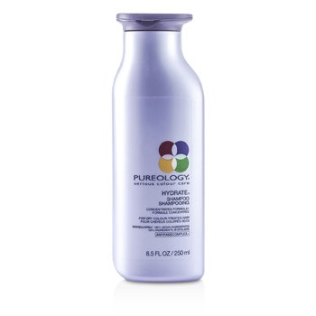 Pureology Hydrate Shampoo (For Dry Colour-Treated Hair) (New Packaging)  250ml/8.5oz