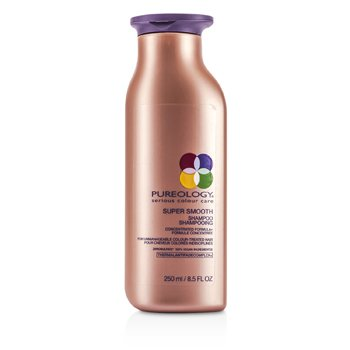 PureologySuper Smooth Shampoo (For Unmanageable Colour-Treated Hair) (New Packaging) 250ml/8.5oz
