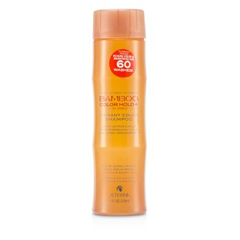 Alterna Bamboo Color Hold+ Vibrant Color Shampoo (For Strong, Vibrant, Color-Protected Hair)  250ml/8.5oz