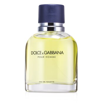 Dolce & Gabbana Pour Homme Eau De Toilette Spray (New Version)  75ml/2.5oz
