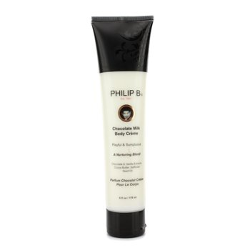 Philip B Chocolate Milk Body Creme  178ml/6oz