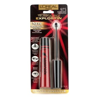L'OrealTelescopic Explosion Mascara - Blackest Black 8ml/0.27oz