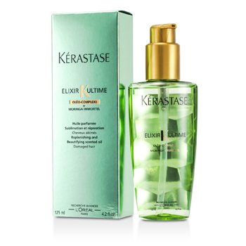 Kerastase Elixir Ultime Oleo-Complexe Moringa Immortel Replenishing and Beautifying Scented Oil (For Damaged Hair)  125ml/4.2oz