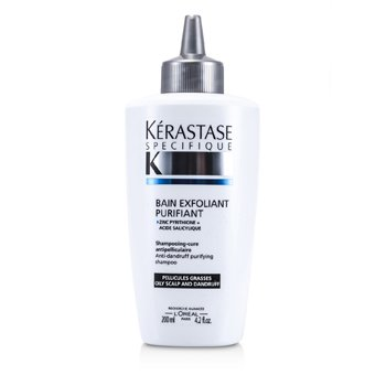 KerastaseSpecifique Bain Exfoliant Purifiant Anti-Dandruff Purifying Shampoo (For Oily Scalp) 200ml/6.8oz