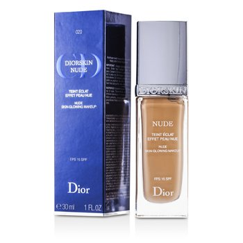 Christian Dior Diorskin Nude Skin Glowing Maquillaje SPF 15 - # 020 Light Beige  30ml/1oz