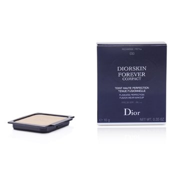 Christian Dior Diorskin Forever Compact Flawless Perfection Fusion Wear Makeup SPF 25 Refill - #030 Medium Beige  10g/0.35oz