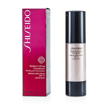 Shiseido Radiant Lifting Foundation SPF 17 - # I00 Very Light Ivory  30ml/1.2oz