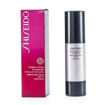 Shiseido Radiant Lifting Foundation SPF 17 - # B100 Very Deep Beige  30ml/1.2oz