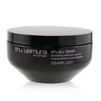 Купить Shusu Sleek Разглаживающая Ухаживающая Маска (для Непослушных Волос) 200ml/6oz, Shu Uemura