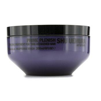 Shu UemuraPrime Plenish Vitalizing Treatment Masque (For Time-Weakened Hair) 200ml/6oz