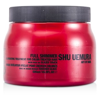 Shu Uemura Full Shimmer Illuminating Treatment Masque (For Color-Treated Hair) (Salon Product)  500ml/16.9oz
