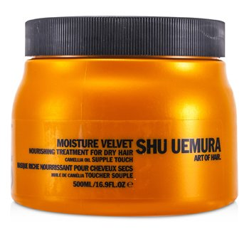 Shu UemuraMoisture Velvet Nourishing Treatment Masque (For Dry Hair) (Salon Product) 500ml/16.9oz